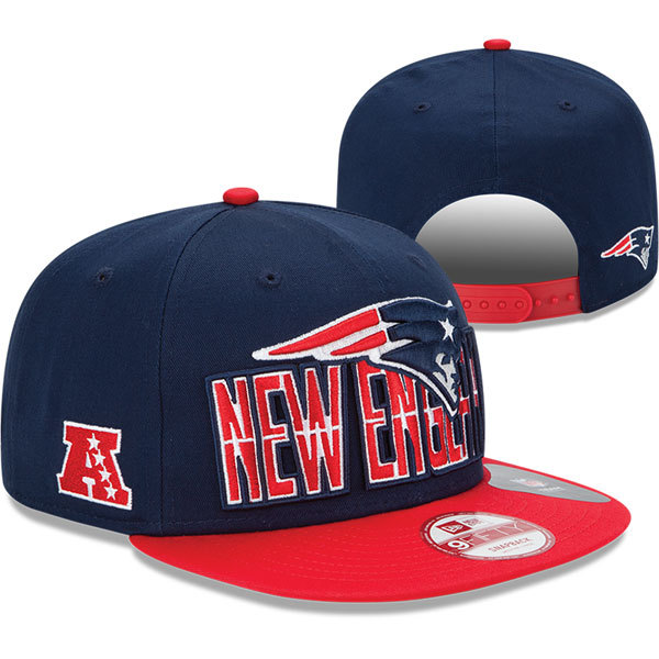 New England Patriots NFL Snapback Hat SD8