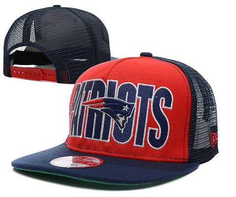 New England Patriots NFL Snapback Hat SD9