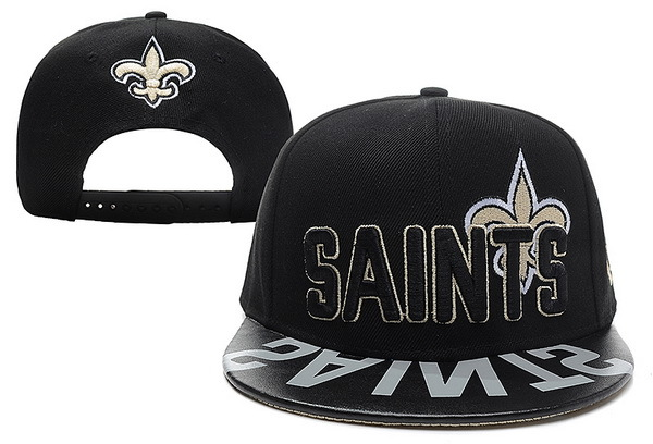 New Orleans Saints Black Snapback Hat XDF 0512
