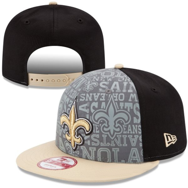 New Orleans Saints Snapback Hat XDF 0528