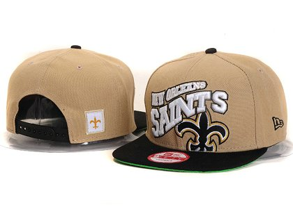 New Orleans Saints New Type Snapback Hat YS 6R56