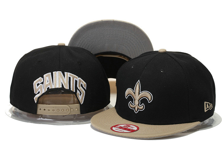 New Orleans Saints Snapback Black Hat GS 0620