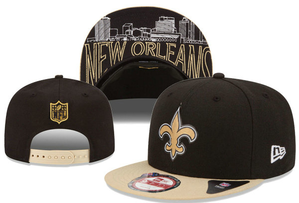 New Orleans Saints Snapback Black Hat XDF 0620