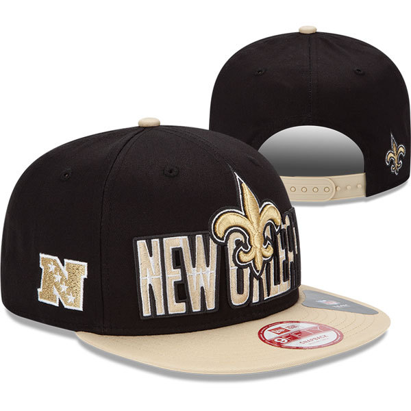 New Orleans Saints NFL Snapback Hat SD4
