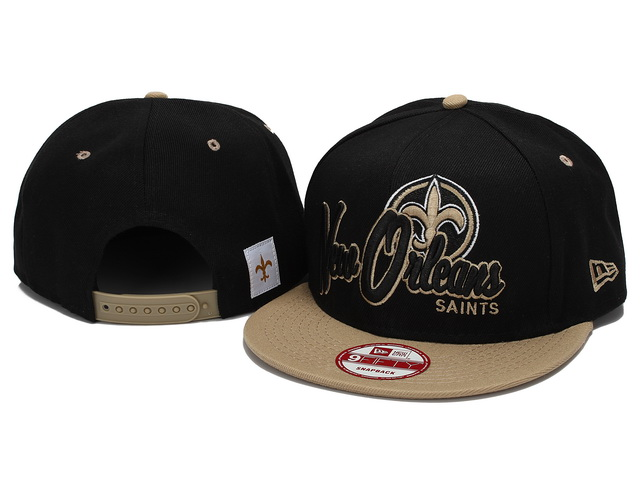 New Orleans Saints NFL Snapback Hat YX200
