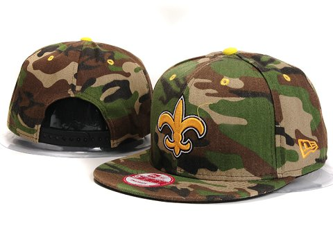 New Orleans Saints NFL Snapback Hat YX302