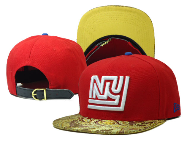 New York Giants Snapback Hat SF 18