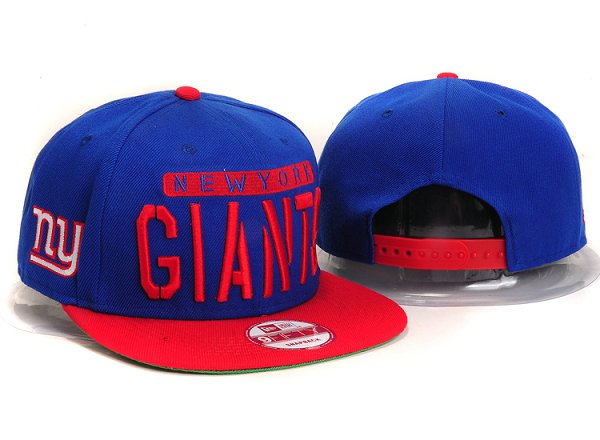 New York Giants Snapback Hat Ys 2109