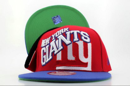 New York Giants NFL Snapback Hat QH CV