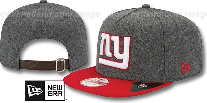 New York Giants-Melton Snapback Hat SF 12