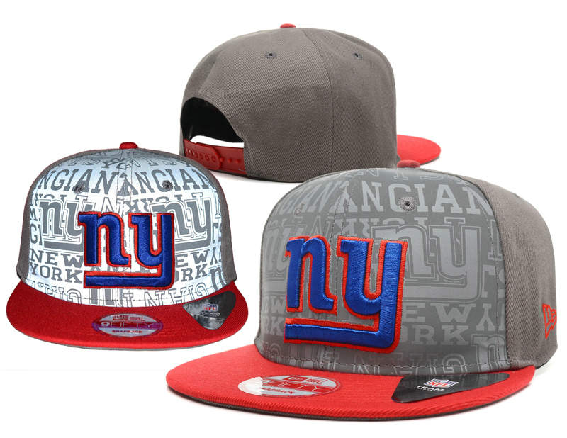 New York Giants Reflective Snapback Hat SD 0721