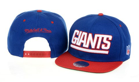 New York Giants NFL Snapback Hat 60D1