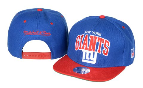 New York Giants NFL Snapback Hat 60D2