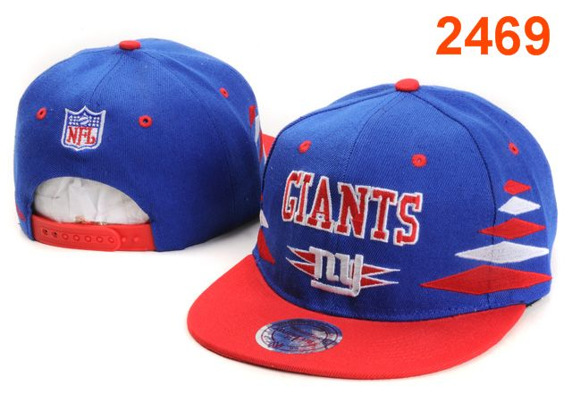 New York Giants NFL Snapback Hat PT76