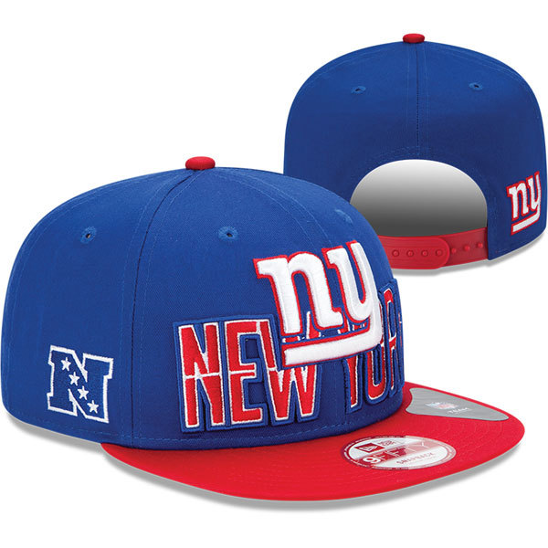New York Giants NFL Snapback Hat SD5