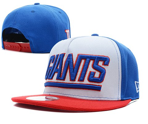 New York Giants NFL Snapback Hat SD6