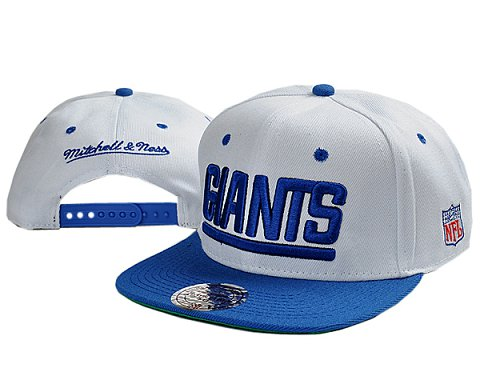 New York Giants NFL Snapback Hat TY 3