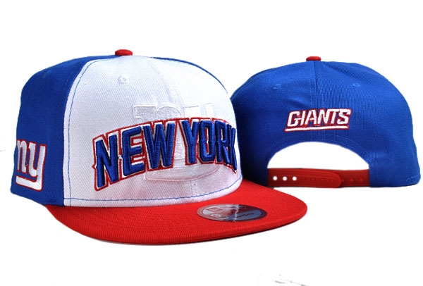 New York Giants NFL Snapback Hat TY 7