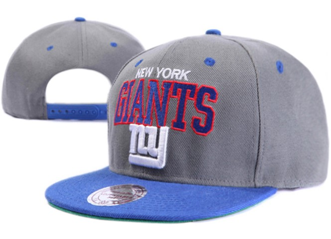 New York Giants NFL Snapback Hat XDF001