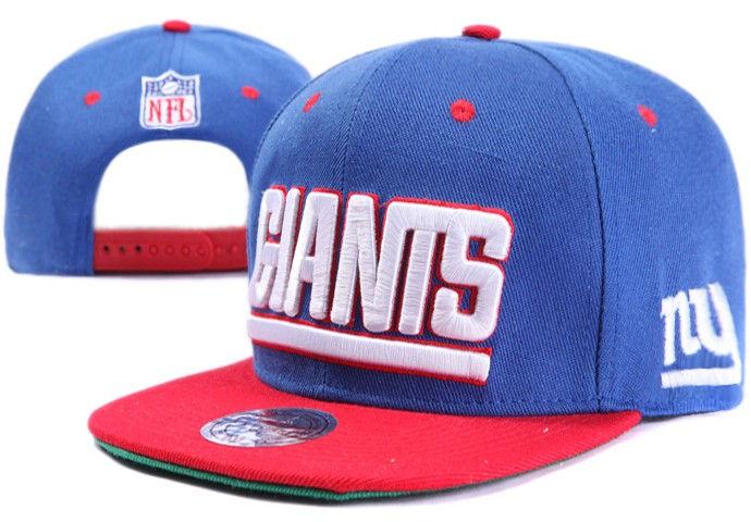 New York Giants NFL Snapback Hat XDF002
