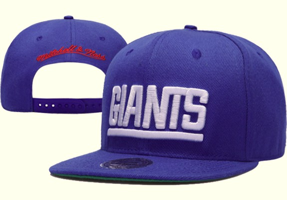 New York Giants NFL Snapback Hat XDF011
