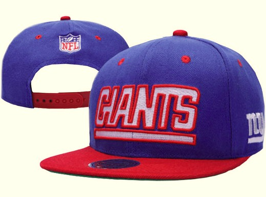 New York Giants NFL Snapback Hat XDF019
