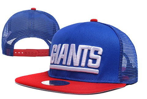 New York Giants NFL Snapback Hat XDF025