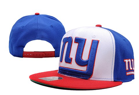 New York Giants NFL Snapback Hat XDF032