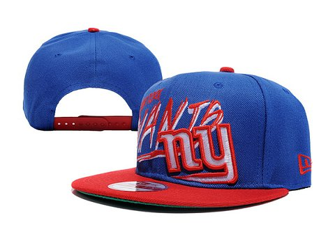 New York Giants NFL Snapback Hat XDF061