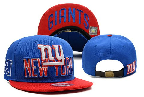 New York Giants NFL Snapback Hat XDF141