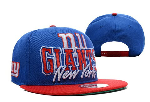 New York Giants NFL Snapback Hat XDF146