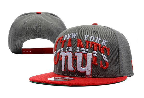 New York Giants NFL Snapback Hat XDF153