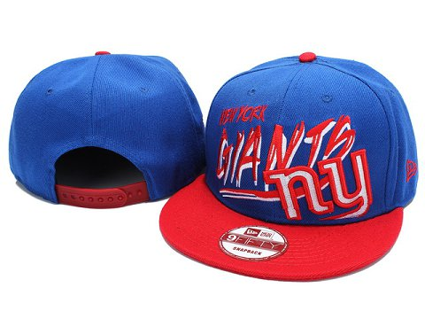 New York Giants NFL Snapback Hat YX190