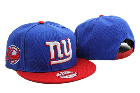 New York Giants NFL Snapback Hat YX237