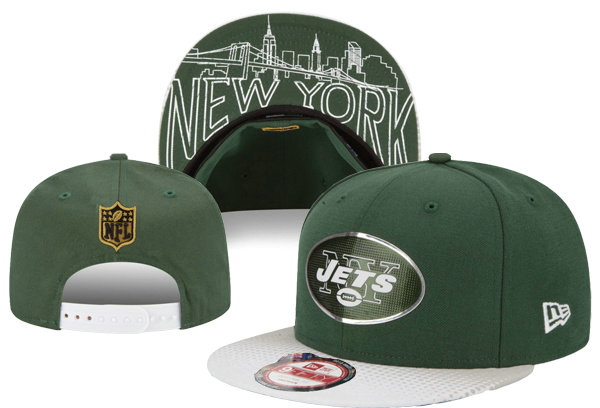 New York Jets Snapback Green Hat XDF 0620