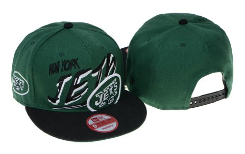 New York Jets NFL Snapback Hat 60D2