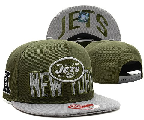 New York Jets NFL Snapback Hat SD3