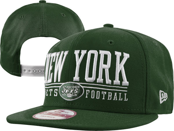 New York Jets NFL Snapback Hat XDF005