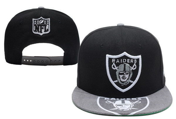 Oakland Raiders Black Snapback Hat XDF 1 0528