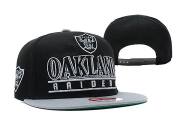 Oakland Raiders Snapback Hat XDF 140812 2