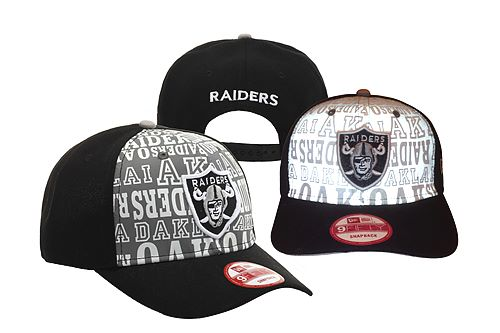 Oakland Raiders Snapback Hat YS 140812 33