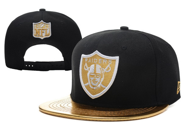 Oakland Raiders Black Snapback Hat XDF 0721
