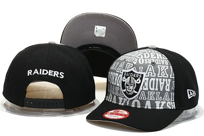 Oakland Raiders Snapback Hat YS F 140802 01