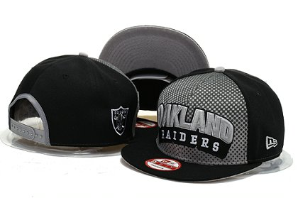 Oakland Raiders Snapback Hat YS F 140802 06