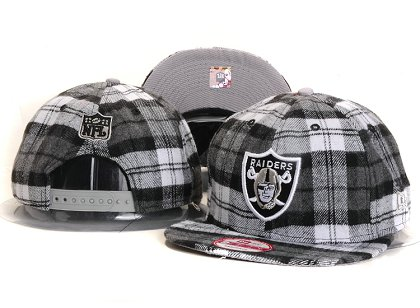 Oakland Raiders New Type Snapback Hat YS 6R06