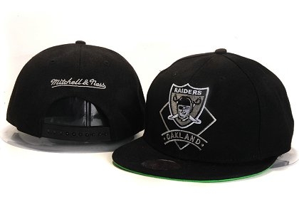 Oakland Raiders New Type Snapback Hat YS 6R12