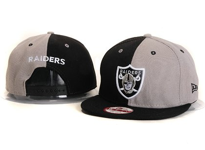Oakland Raiders New Type Snapback Hat YS 6R23
