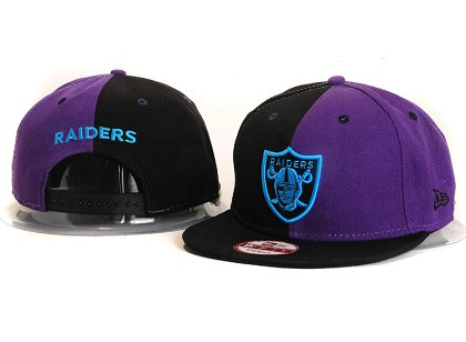 Oakland Raiders New Type Snapback Hat YS 6R26