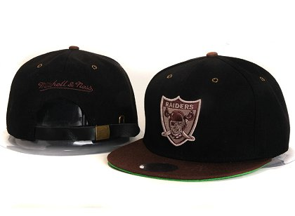 Oakland Raiders New Type Snapback Hat YS 6R33
