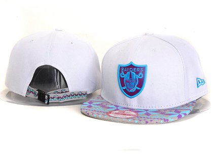 Oakland Raiders New Type Snapback Hat YS 6R41